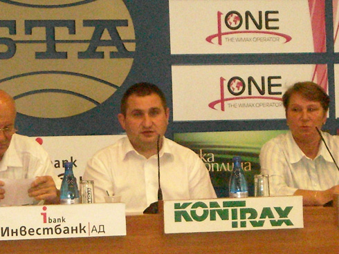 Press Conference in BNA